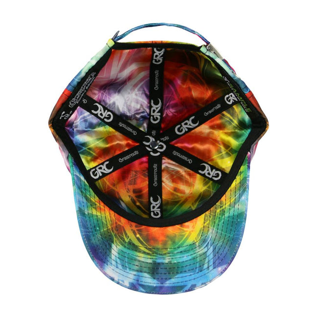 Tech Tie Dye Rainbow Dad Hat