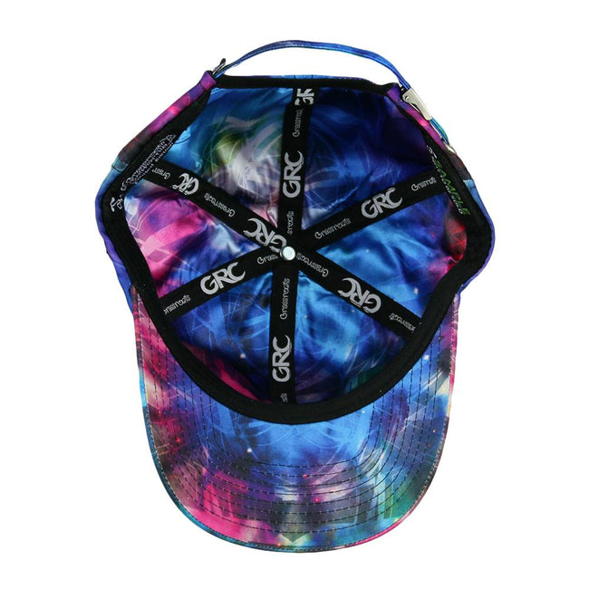 Tech Tie Dye Blue Dad Hat