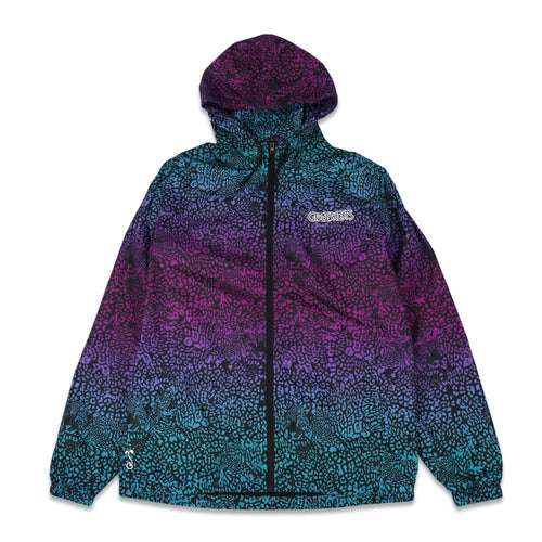 Spots Blue Windbreaker Jacket