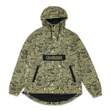 Spots Gold Anorak Jacket