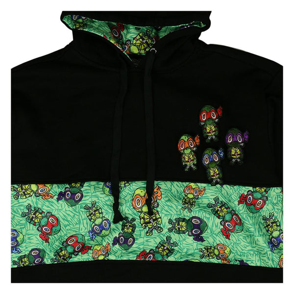 Vincent Gordon Removable Turtles Tall Pullover Hoodie