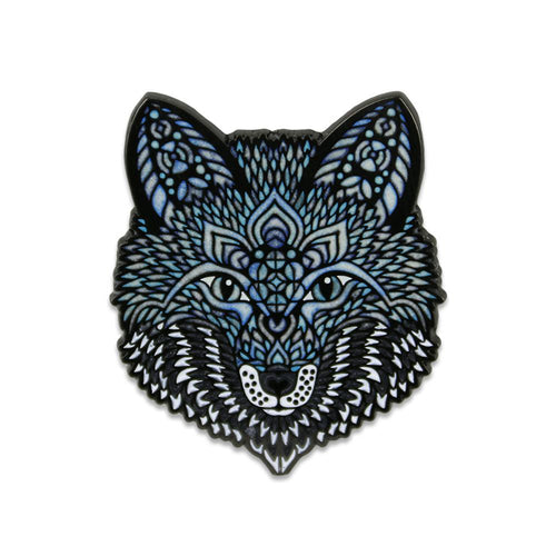 Phil Lewis Ice Fox Pin