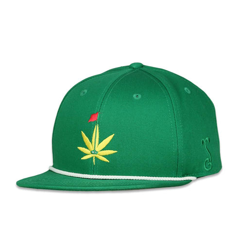 Master Kush Leaf Green Fitted Hat
