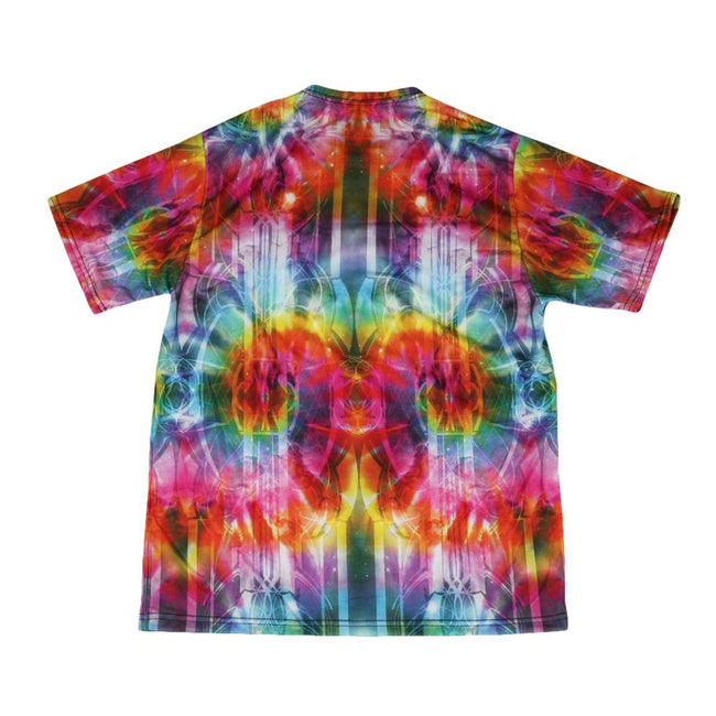 Tech Tie Dye Rainbow T Shirt