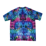 Tech Tie Dye Blue T Shirt