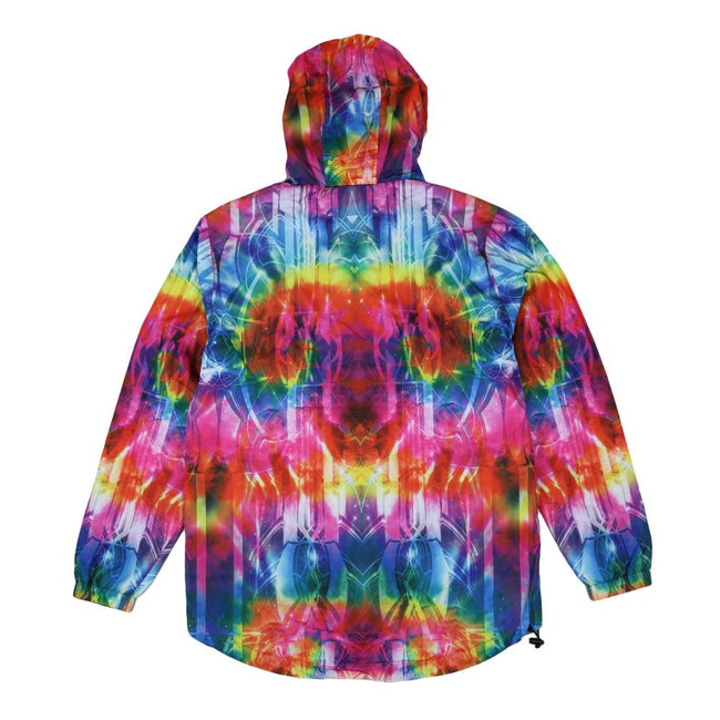 Tech Tie Dye Rainbow Anorak Jacket