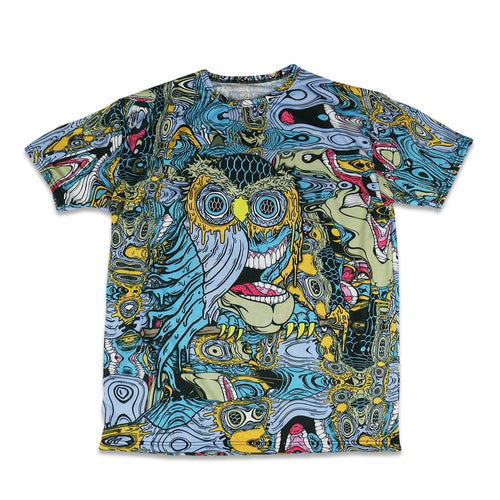 Aaron Brooks Oil Owl Warp T Shirt