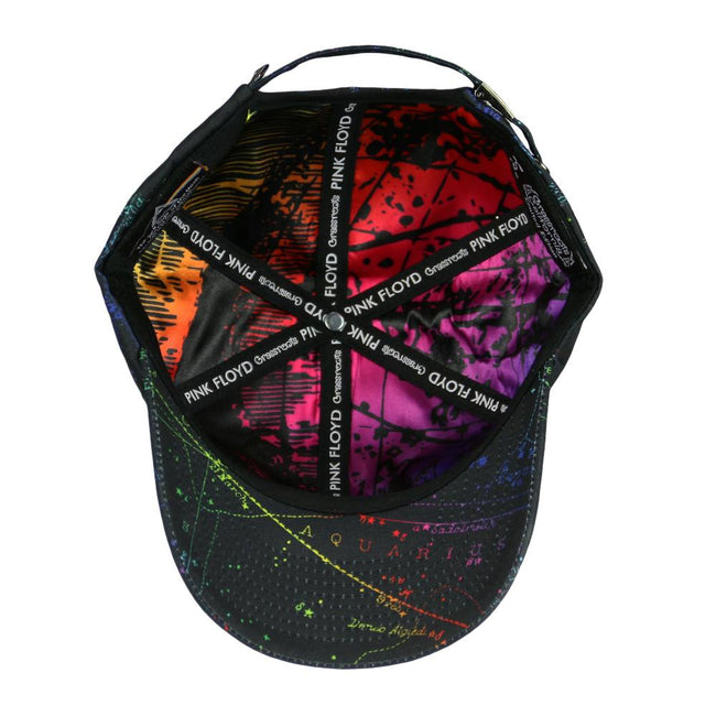 Pink Floyd Dark Side of the Moon Black Dad Hat
