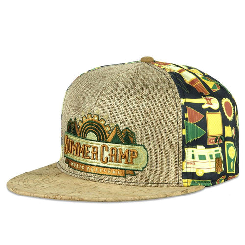 Summer Camp 2017 Fitted Hat