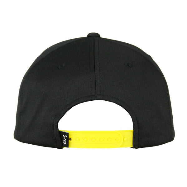 Johnny Chimpo Dri-Bear Black Pro Fit Snapback Hat