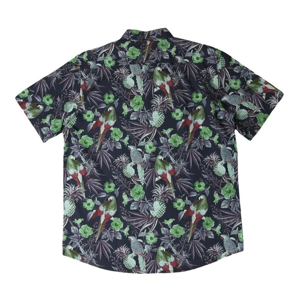 Greg Lutzka Ganja Bahama Purple Button Up Shirt