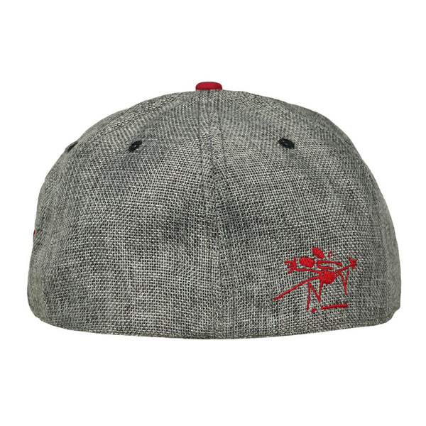 Stanley Mouse Sugar Cube Gray Fitted Hat