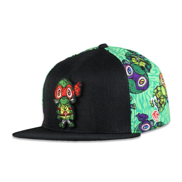 Vincent Gordon Removable Turtles Green Snapback Hat