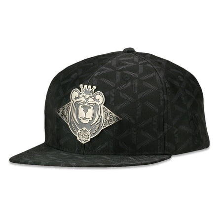 Celestial Serpent Black Fitted Hat