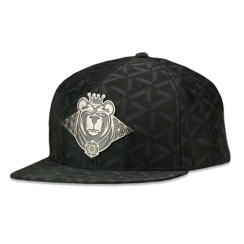 11th Anniversary Black Snapback Hat