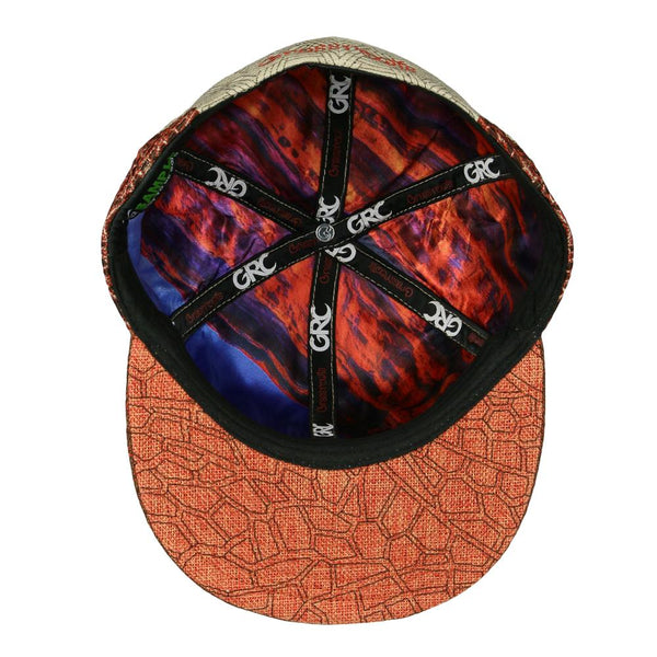 Red Rocks Tan Fitted Hat