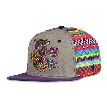Dime Bags x GRC Removable Bear Gray Snapback Hat & Fanny Pack Bundle