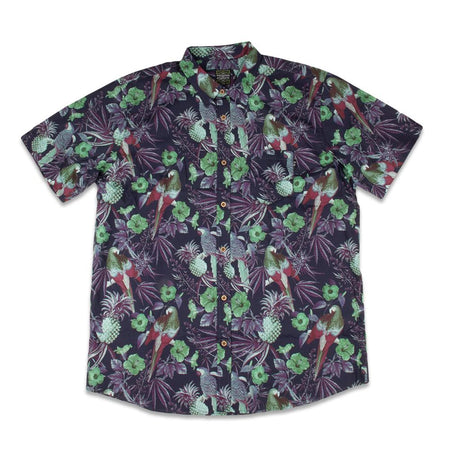 Greg Lutzka Ganja Bahama Coral Button Up Shirt