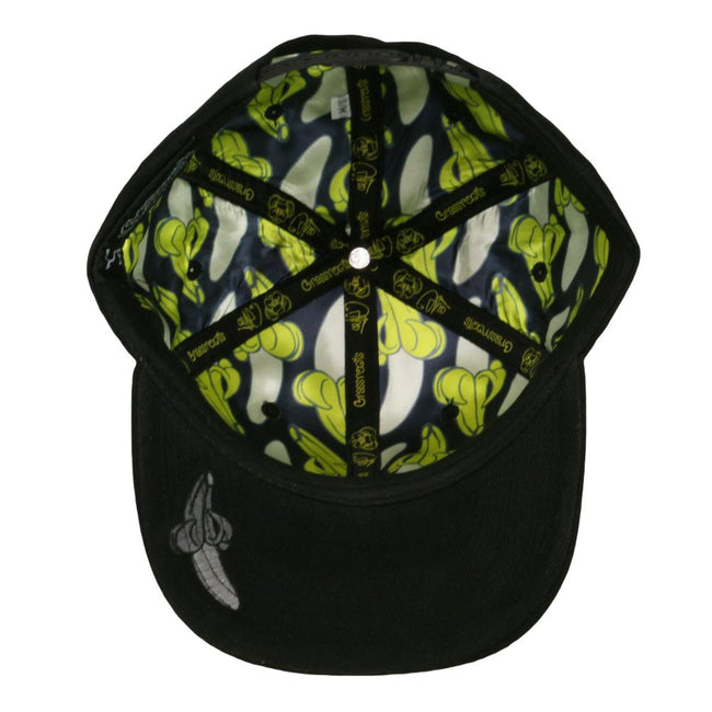 Coyle Brushed Monkey Black Snapback Hat