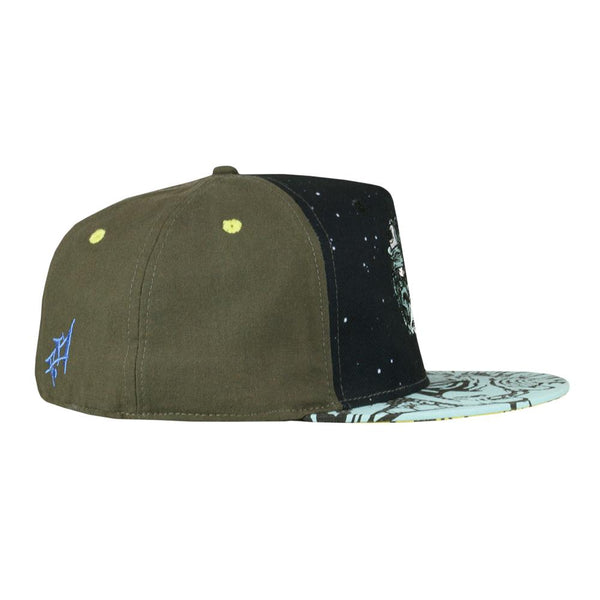 *Pre-Sale* Aaron Brooks Lunar Meets Fungus Blue Fitted Hat