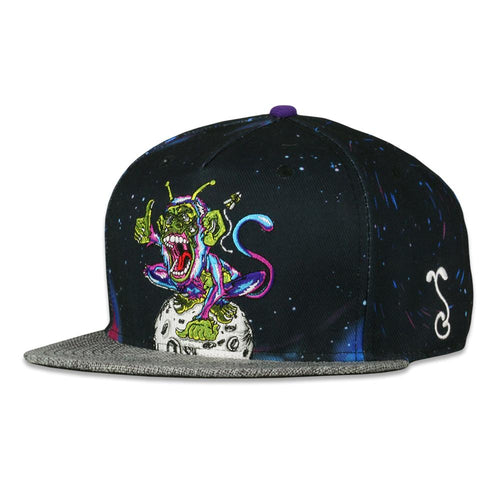 Aaron Brooks Space Monkey Fitted Hat