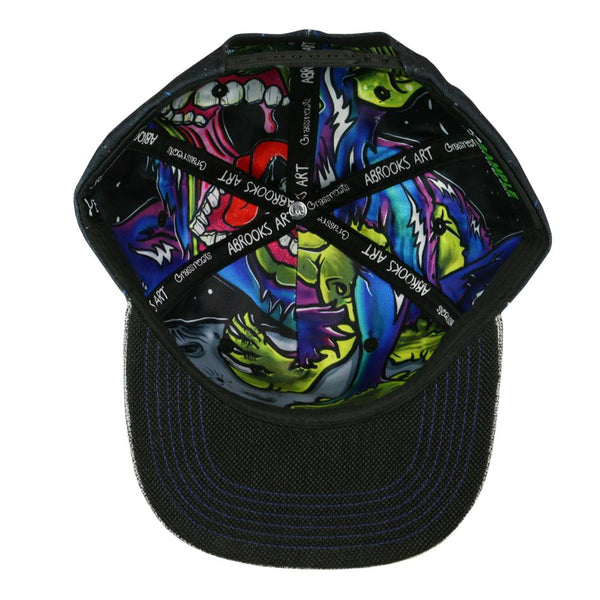 Aaron Brooks Space Monkey Snapback Hat