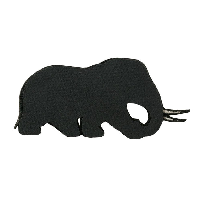 Elephant Removable Bear Patch