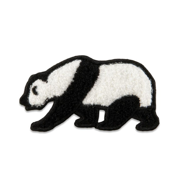 Panda Chenille Removable Bear Patch