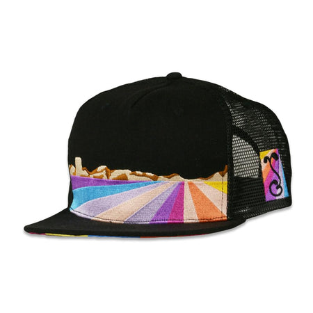 Pink Floyd Dark Side of the Moon Black Fitted Hat