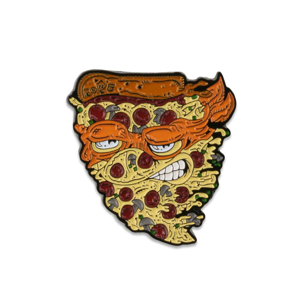 Vincent Gordon Pizza Orange Pin