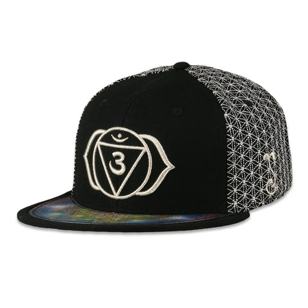 Sunsquabi Galaxy Gray Snapback Hat