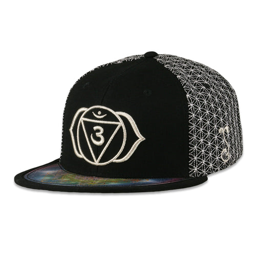 Laser Guided Visions Third Eye Silver Snapback Hat