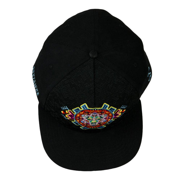 Conscious Alliance Mandala Black Snapback Hat