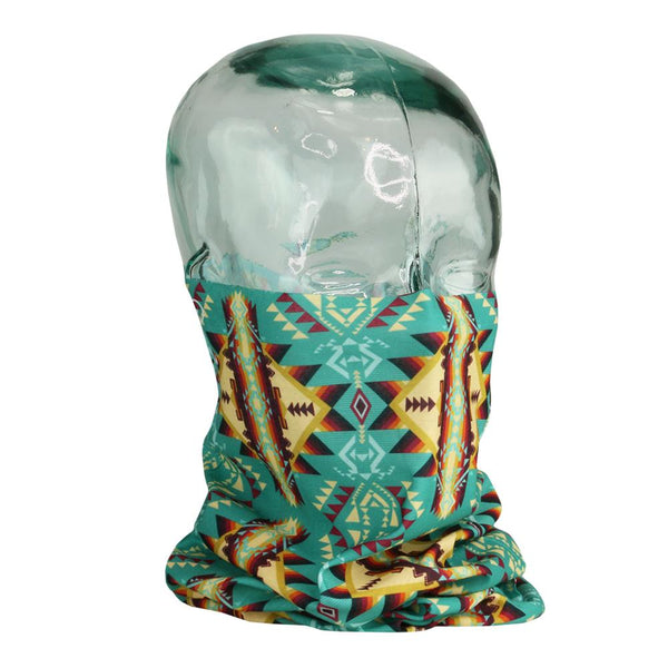 Desert Lore Turquoise Face Buff