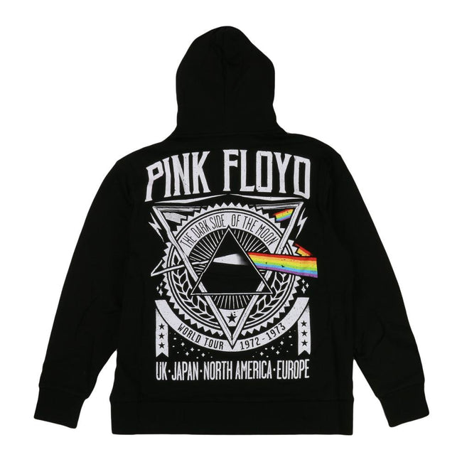 Pink Floyd Dark Side of the Moon Tour Black Pullover Hoodie