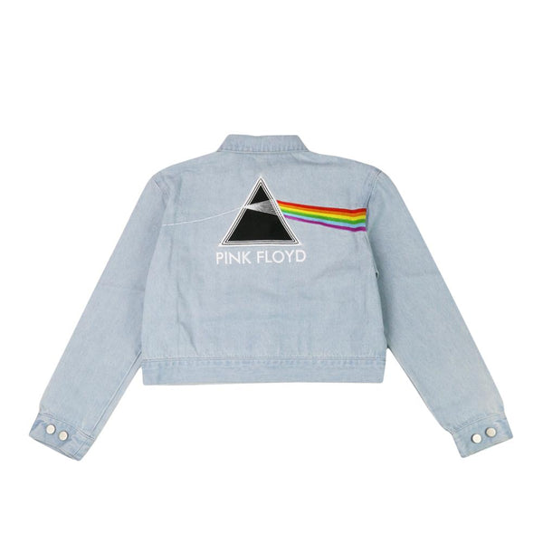 Pink Floyd Dark Side of the Moon Blue Jean Jacket