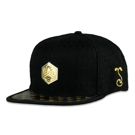Cosmic Arcana Gold Fitted Hat