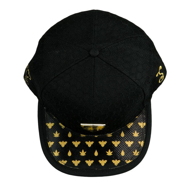 BeeSlick Black Fitted Hat
