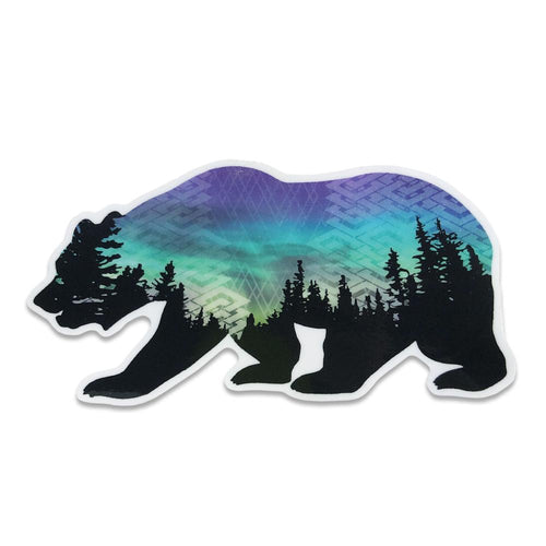 Camproots V1 Bear Sticker