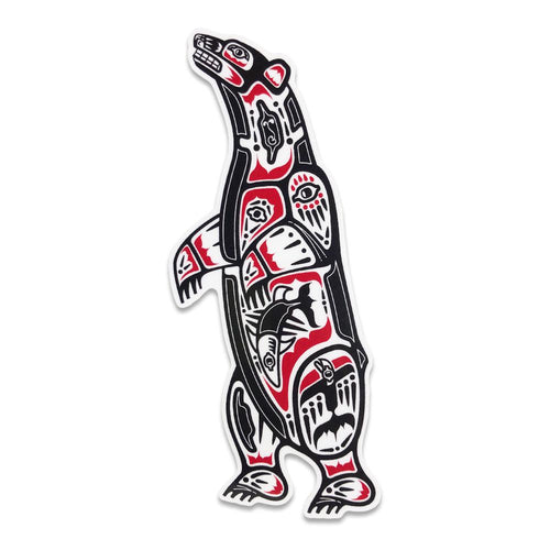 Totem Bear Sticker