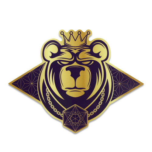 11th Anniversary Bear Sticker