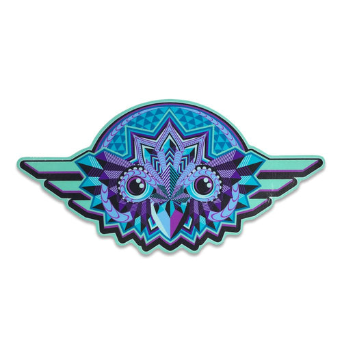 Night Owl Blue Sticker
