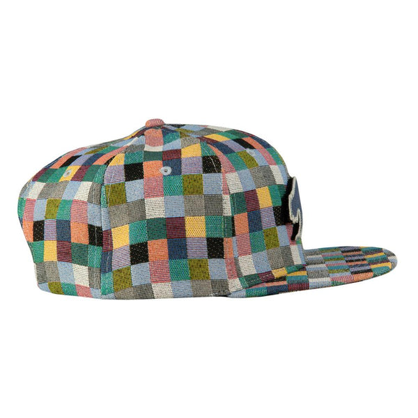 Removable Bear Pastel Patchwork Snapback Hat