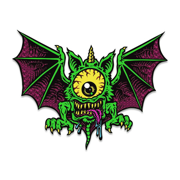 Jimbo Phillips Cycloptobat Green Glow Pin