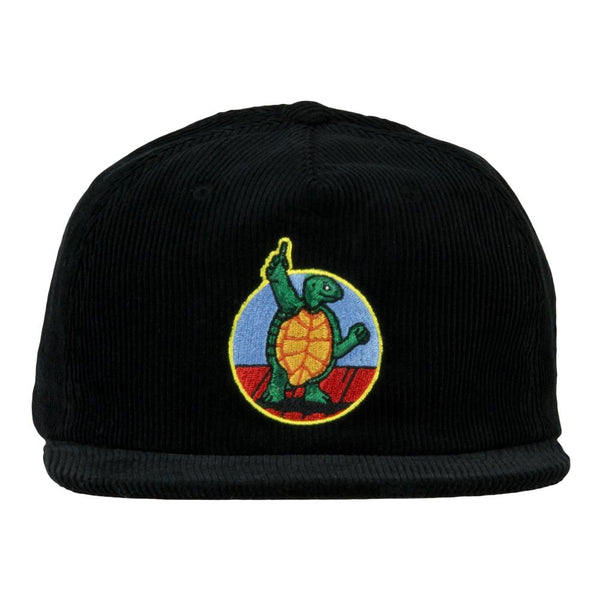 Stanley Mouse Miracle Terrapin Black Corduroy Zipperback Hat