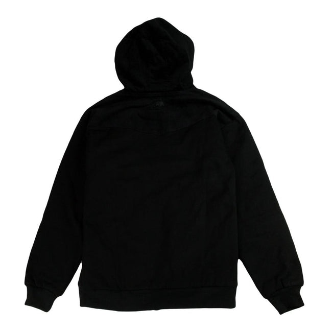 *Pre-Sale* Removable Bear Black Corduroy Zip Up Hoodie
