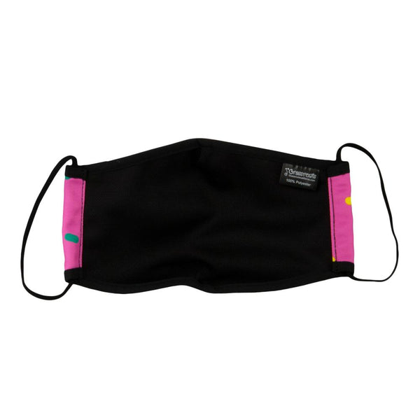 KGB Glass Sprinkles Pink Facemask