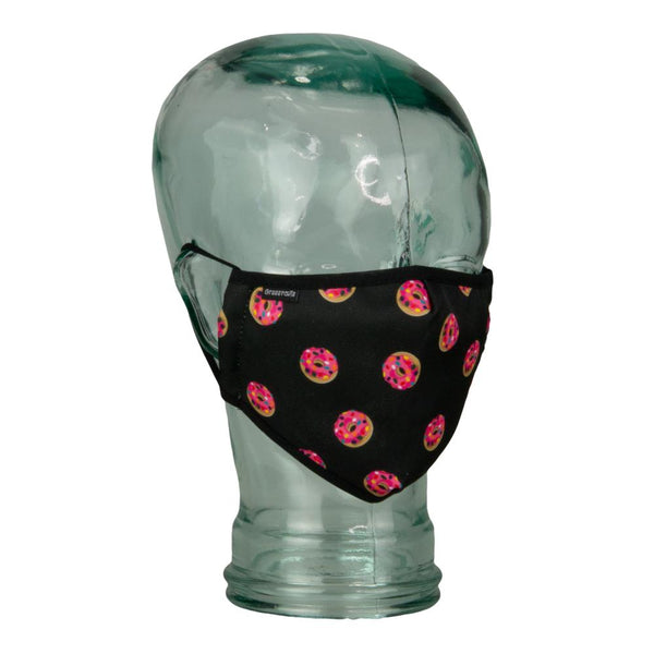 KGB Glass Pink Donuts Facemask