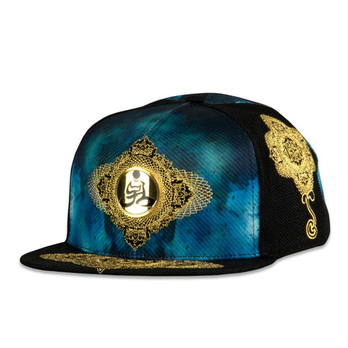 Desert Dwellers Breath Black Snapback Hat
