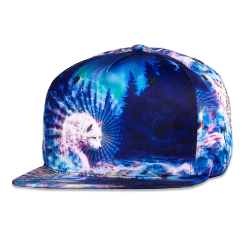 Simon Haiduk Spirit Wolf Fitted Hat